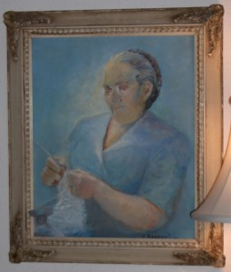 Aunt Isabelle as painted by her niece Mary Benedetto
